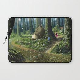 Totoro and Mei Laptop Sleeve