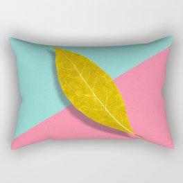 pop leaf Rectangular Pillow