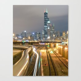 Chicago Electric  Canvas Print