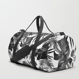 Tropical Jungle Leaves Pattern #10 (2020 Edition) #tropical #decor #art #society6 Duffle Bag