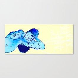 Yes I love--I mean I'd love to get to know you Canvas Print