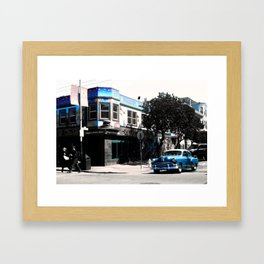 San Francisco Car Framed Art Print