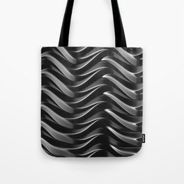GRIEVE shades of dark grey weave together to gain strength Tote Bag