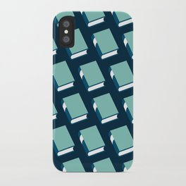 Powell (Blue) iPhone Case