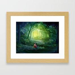 Eva's Talking Trees Framed Art Print