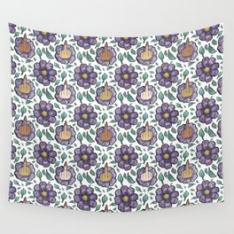 bad flower Wall Tapestry