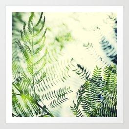 Branch Blur Art Print