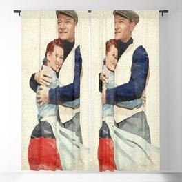 The Quiet Man - Watercolor Blackout Curtain