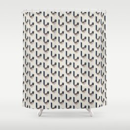 Superb Fairywren | Pattern Shower Curtain