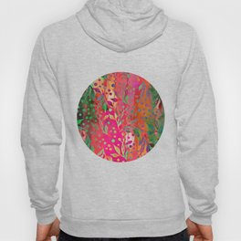 Tropical Summer colorful botanical pattern Hoody