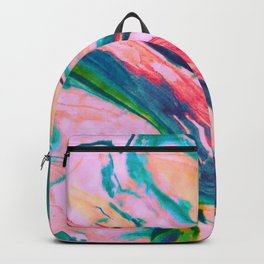 Bright and happy marble design Backpack