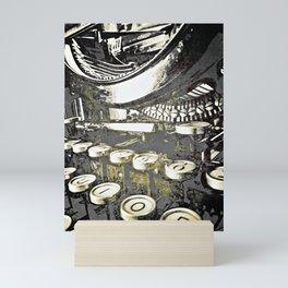 speed test Mini Art Print