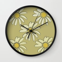 All About Daisies Wall Clock