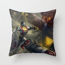 X-men fanart - Colossus! Throw Pillow
