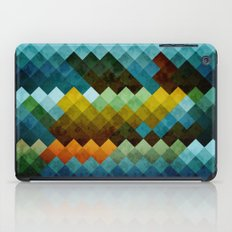 Abstract Cubes BYG iPad Case