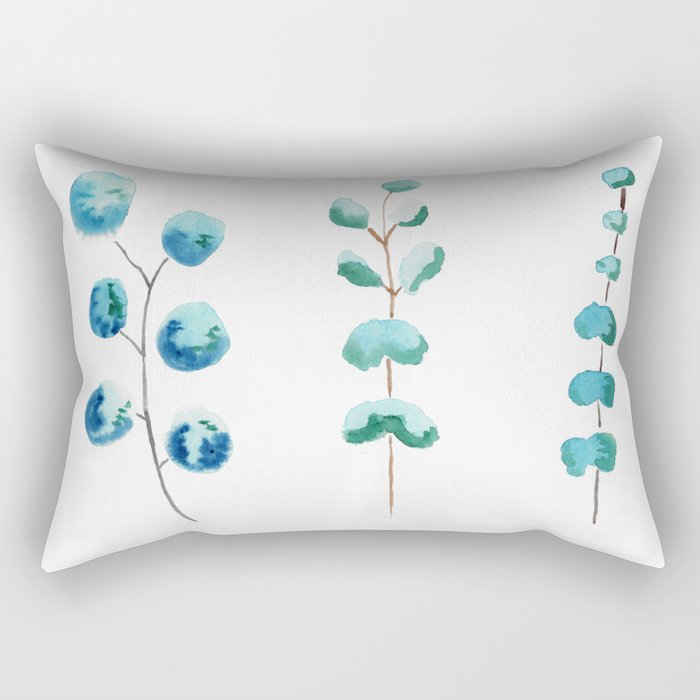 Eucalyptus Trio Rectangular Pillow