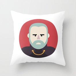 Darth Tyranus Throw Pillow
