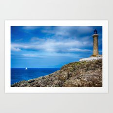 Ardnamurchan Lighthouse 2 Art Print