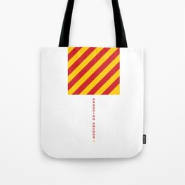 Dragging Anchor • Boat Flags • Nautical Tote Bag