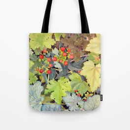 Hypericum & Heuchera Tote Bag