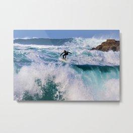 Wave Series Photograph No. 16. - Surf's Up! Metal Print