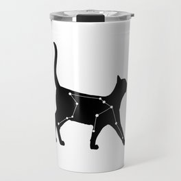 Aquarius Cat Travel Mug