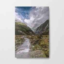 Franz Joseph glacier Metal Print
