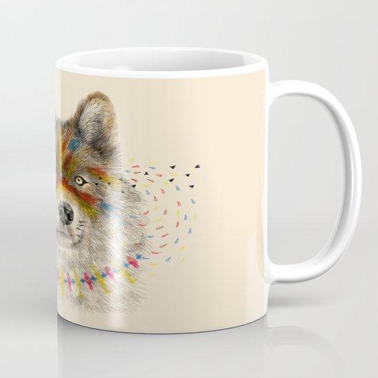 Cherokee Wolf Mug