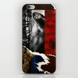 Music Triptych: Saxophone iPhone Skin