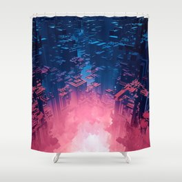 Fusion City Shower Curtain