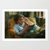literature Art Prints featuring Literature by John Pacer