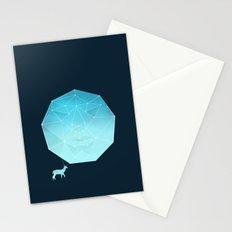 Deer god Stationery Cards