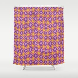 Diamonds are Forever-Fiesta Colors Shower Curtain