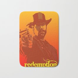 red dead Bath Mat