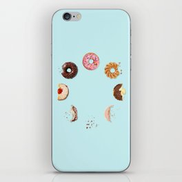 Donut Phases iPhone Skin