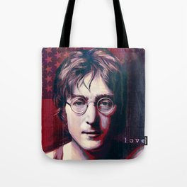 Peace And Hippie Love Tote Bag