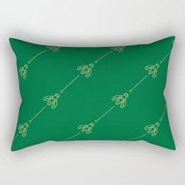 Bees & needles Rectangular Pillow