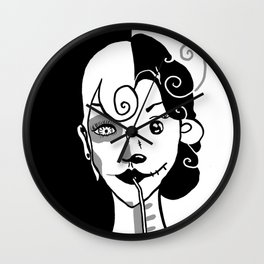 The Alpha Female Wall Clock
