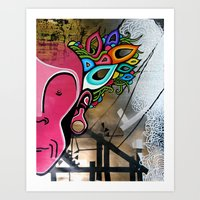creativity Art Prints featuring Creativity by Connor Beale