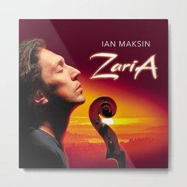 """Ian Maksin """"ZARIA"""" new album release memorabilia Metal Print"""