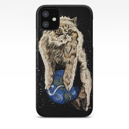 Floyd the lion iPhone Case