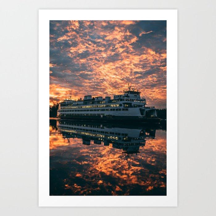 Friday Harbor Ferry Kunstdrucke