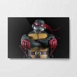 TMNT Raphael Metal Print