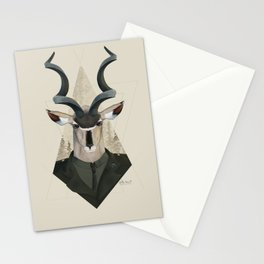 Commander of Deers Stationery Cards