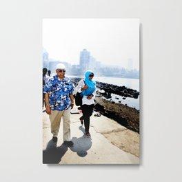 Mumbai Crowds - Haji Ali Mosque - 33 Metal Print