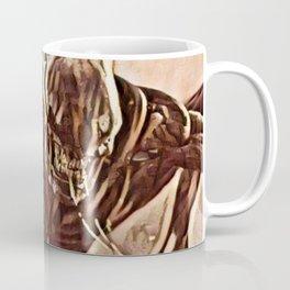 Alien Angry Monster Artistic Illustration Slush Style Coffee Mug
