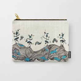 Djidja On Wawes Carry-All Pouch