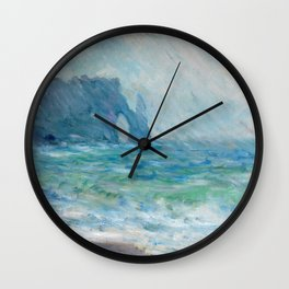 1886-Claude Monet-Regnvær, Etretat-60 x 73 Wall Clock