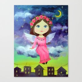 Angel Wells Canvas Print