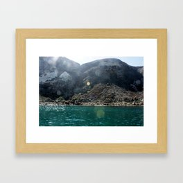 Potato Harbor Framed Art Print